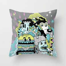 Magic Friends Throw Pillow