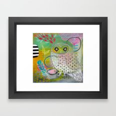 There You Are Framed Art Print
