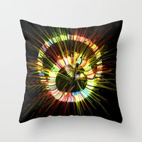 Altered NYC Throw Pillow