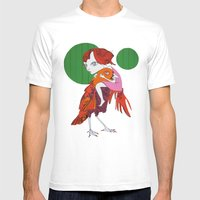 Irma Mens Fitted Tee White SMALL