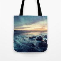 Sunset on the Breakwater Tote Bag