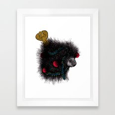 Christmas Porcupine Tree Framed Art Print