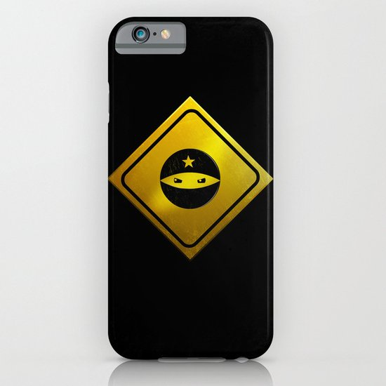 BEWARE! NINJAS AHEAD. iPhone & iPod Case