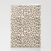 Missy Leopard Stationery Cards