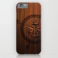 Wooden Anchor iPhone 6 Slim Case