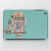 R2D2 crashed into a flower shop iPad Case