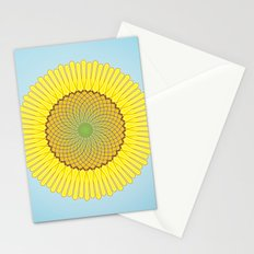 Spring Yellow Stationery Cards