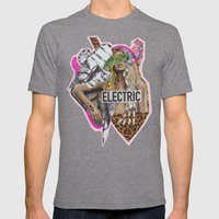 ELECTRIC FANTA-SIA  Mens Fitted Tee Tri-Grey SMALL
