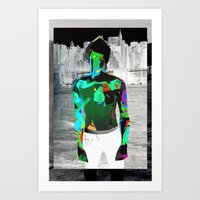 Urban Boy Art Print