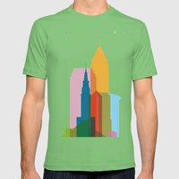 Shapes Of Cleveland Accu… Mens Fitted Tee Grass SMALL
