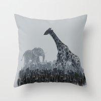 The Tall Grass Throw Pillow