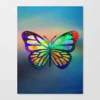 Vivid Butterfly Canvas Print