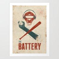 The Battery Art Print
