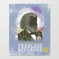 Fearless: Reformer Canvas Print