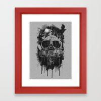 Suffocate Framed Art Print