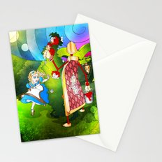Paint The Roses Red Stationery Cards