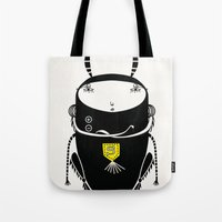 black cricket Tote Bag