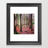 Ruby Sunday Framed Art Print