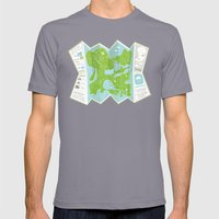 Totally Inaccurate Map of Gifford Pinchot State Park Mens Fitted Tee Slate SMALL