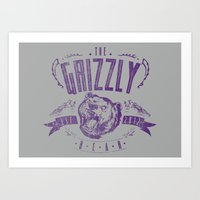 The Grizzly Bear Art Print