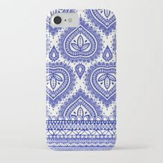 Decorative Blue iPhone 7 Slim Case