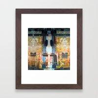 Summer space, smelting selves, simmer shimmers. 11 Framed Art Print