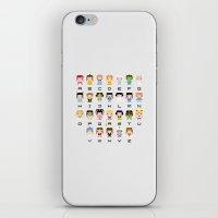 Princess Alphabet iPhone & iPod Skin