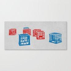 Crates  Canvas Print