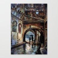 Alleywalkers Canvas Print