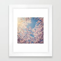 Blossom Series 1 Framed Art Print