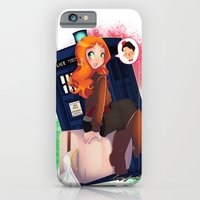 iPhone & iPod Case featuring Doctor Who - Amy Pond by Lucy Fidelis