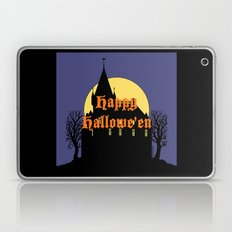Creepy Castle Happy Hallowe'en Laptop & iPad Skin