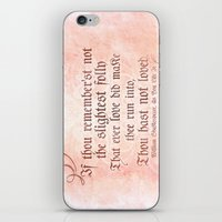 The Folly Of Love - As Y… iPhone & iPod Skin