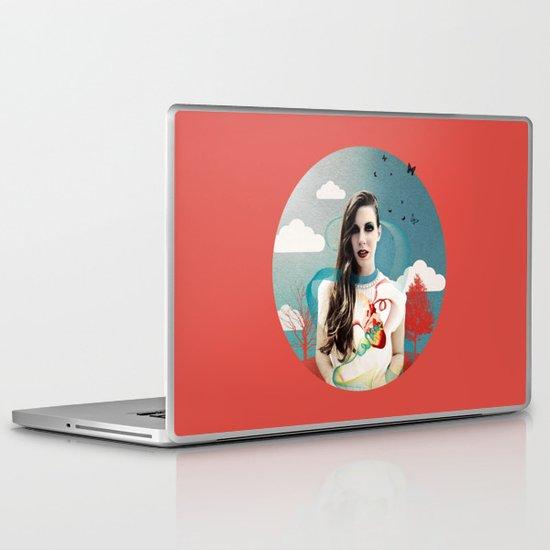 CORNELIAS Heart Rhythms  Laptop & iPad Skin
