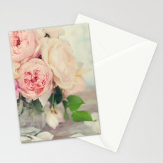 Still Life English Roses Stationery Cards