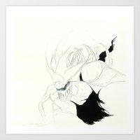 UnHuman#12 Art Print