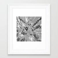 The mask Framed Art Print