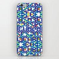 Cubed Balance iPhone & iPod Skin