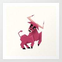 Taurus! Art Print