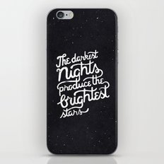Darkest Nights iPhone & iPod Skin