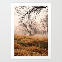 Natural Mystic In The Ai… Art Print
