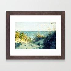 Hatteras Dunes Framed Art Print