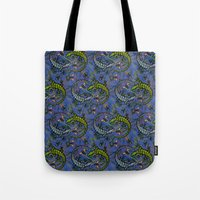 Lizzards Pattern. Tote Bag