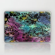 WATERCOLOUR FLORAL Laptop & iPad Skin