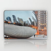 Chicago Bean - Big City Lights Laptop & iPad Skin