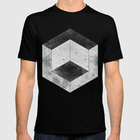 Hex Mens Fitted Tee Black SMALL