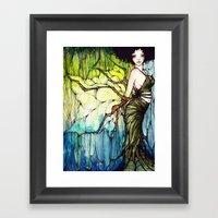 Dryad Framed Art Print