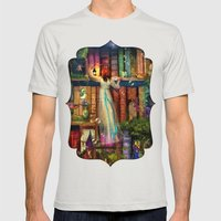 Whimsy Trove - Treasure … Mens Fitted Tee Silver SMALL