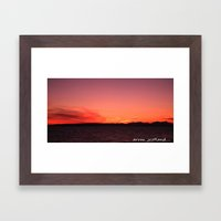 arran ,scotland  Framed Art Print
