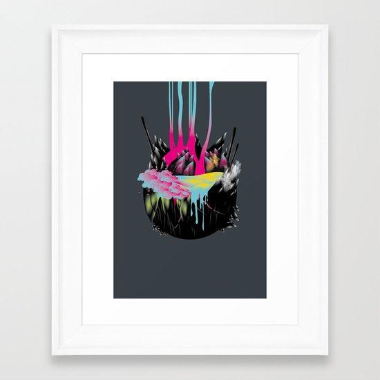 System II Framed Art Print